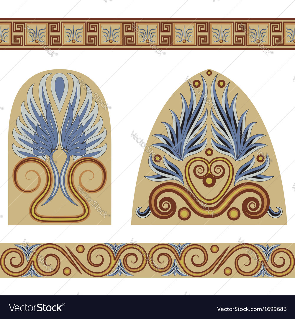 Greek set vector | Price: 1 Credit (USD $1)