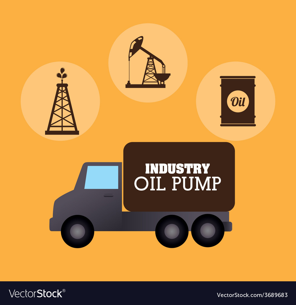 Industry design over yellow background vector | Price: 1 Credit (USD $1)
