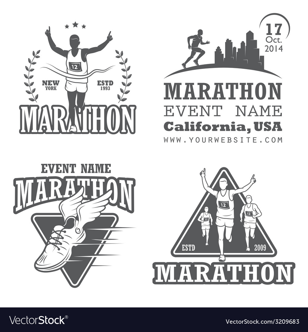 Marathon 2 vector | Price: 1 Credit (USD $1)
