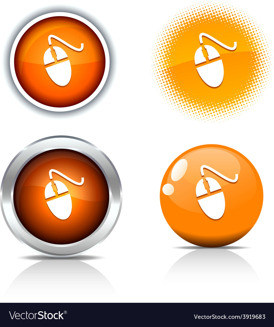 Mouse buttons vector | Price: 1 Credit (USD $1)
