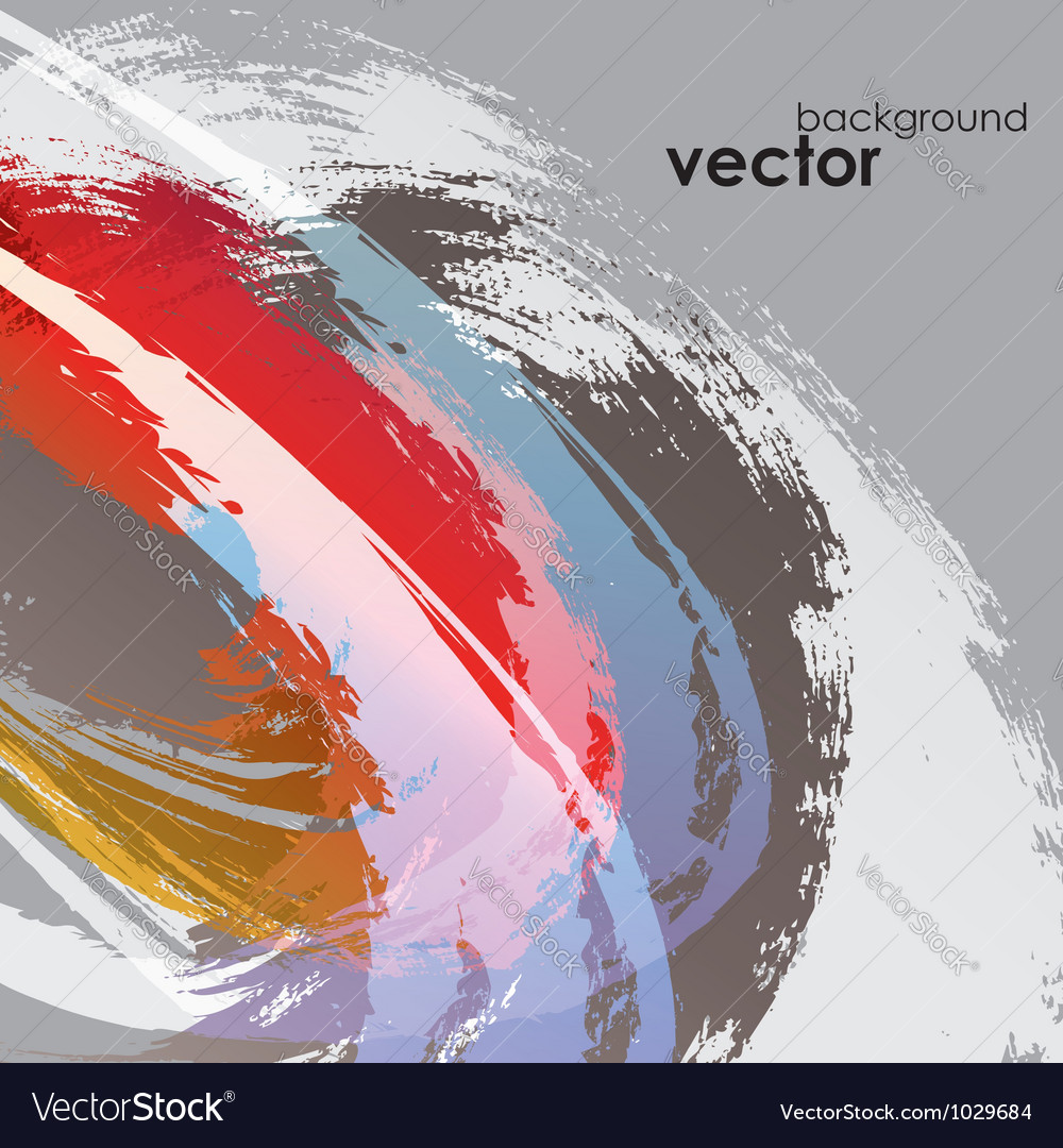 Abstract paint background vector | Price: 1 Credit (USD $1)