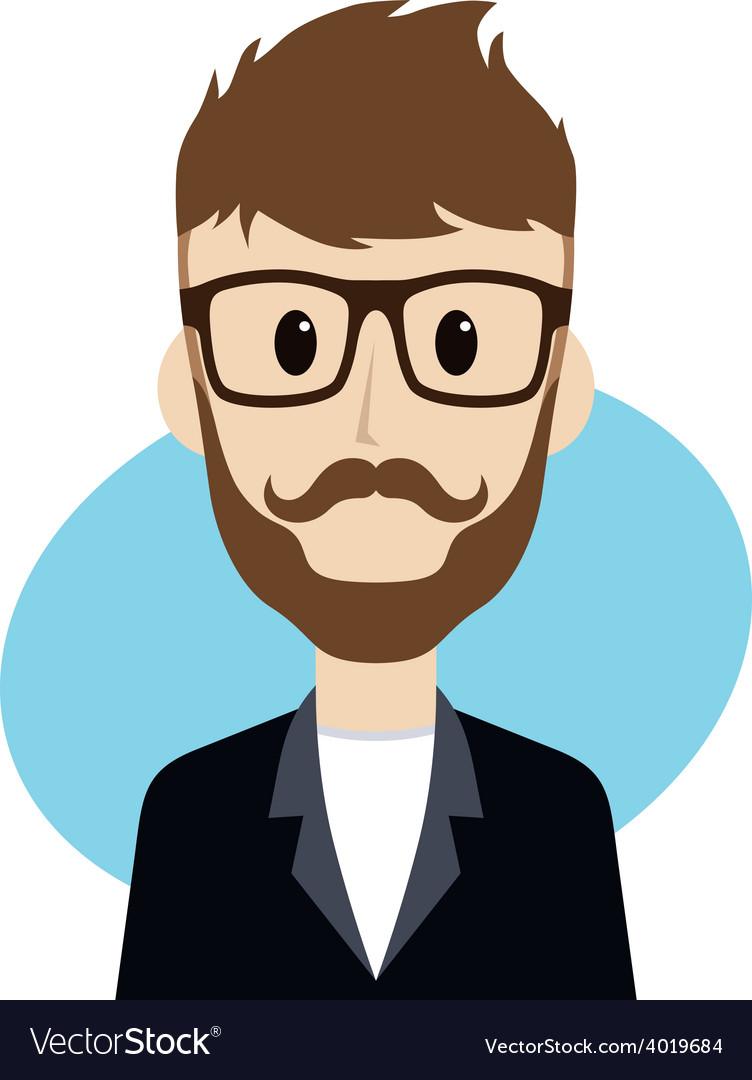 Man cartoon character vector | Price: 1 Credit (USD $1)