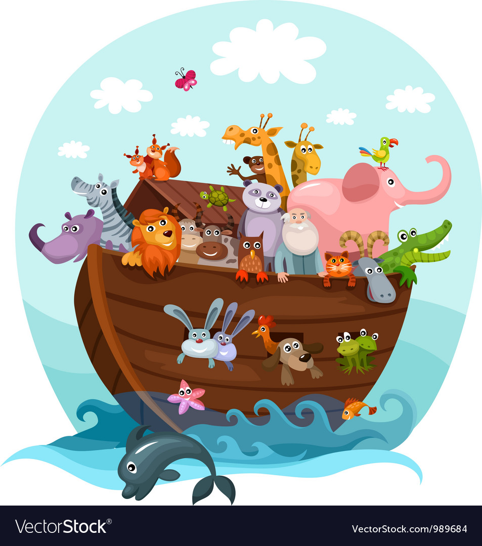 Noahs ark vector | Price: 3 Credit (USD $3)
