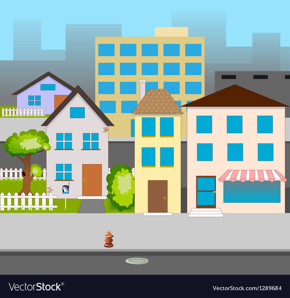Street vector | Price: 1 Credit (USD $1)