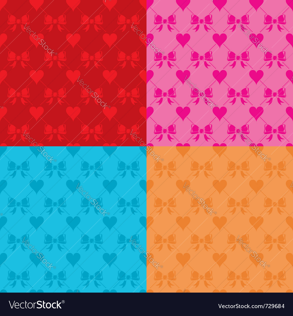 Valentines day seamless vector | Price: 1 Credit (USD $1)