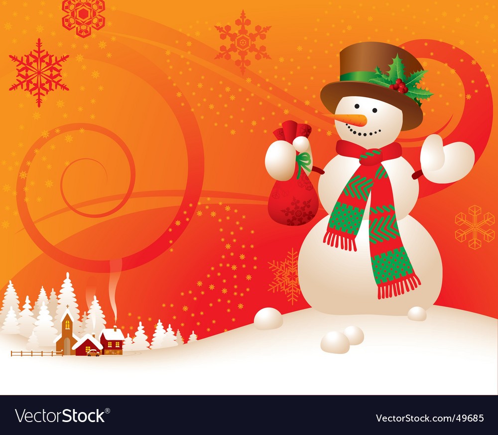 Christmas & new-year's greeting card vector | Price: 3 Credit (USD $3)