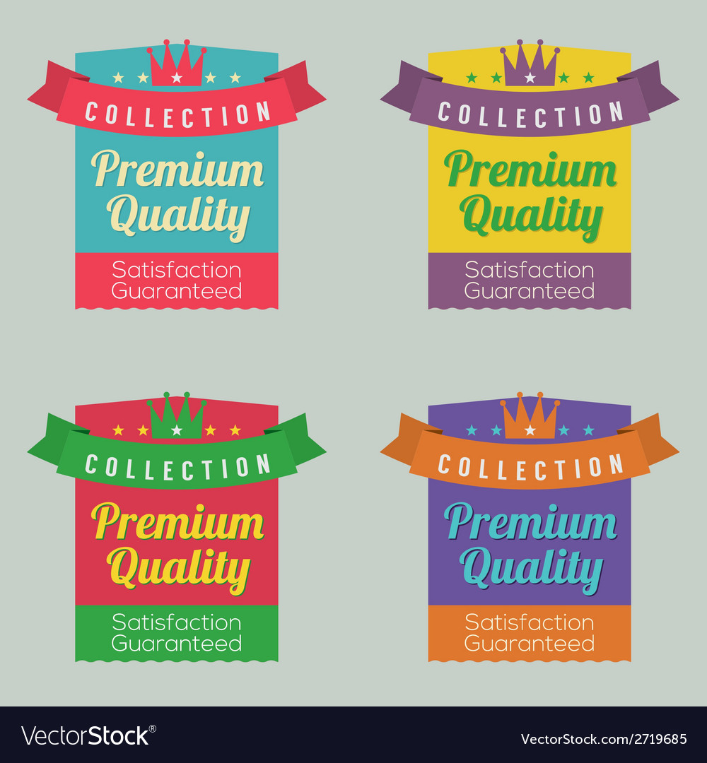 Set of colorful labels vector | Price: 1 Credit (USD $1)
