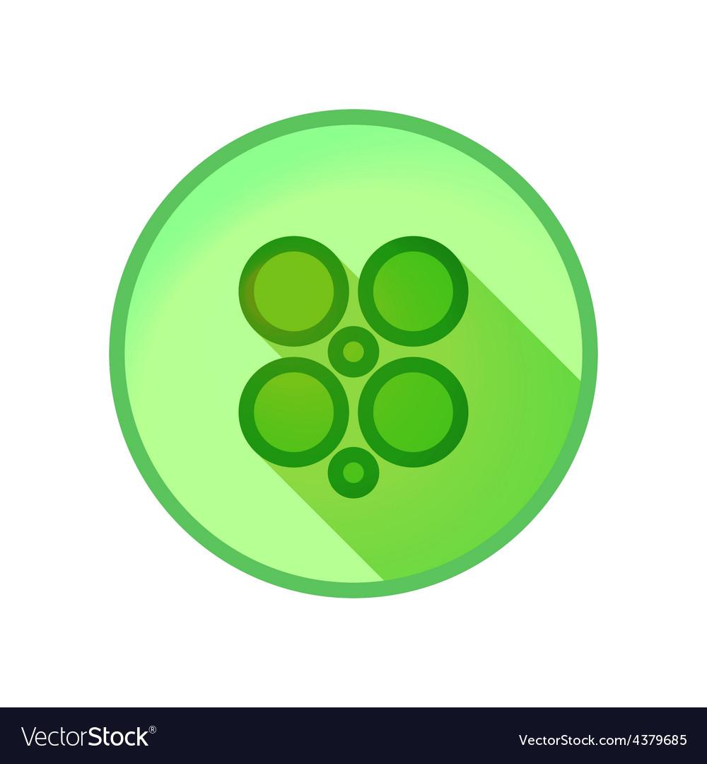 Shamrock clover vector | Price: 1 Credit (USD $1)
