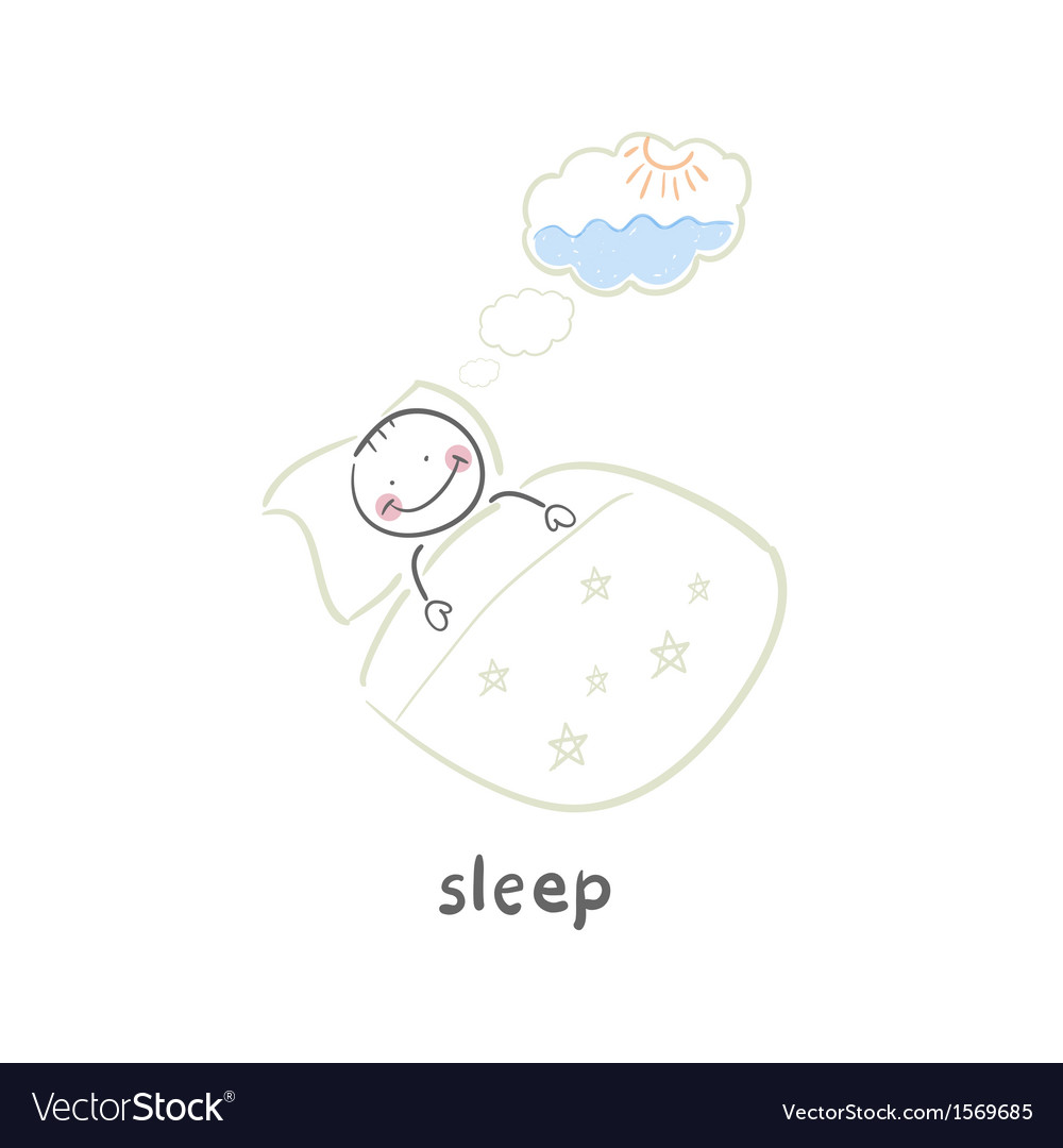 Sleep vector | Price: 1 Credit (USD $1)