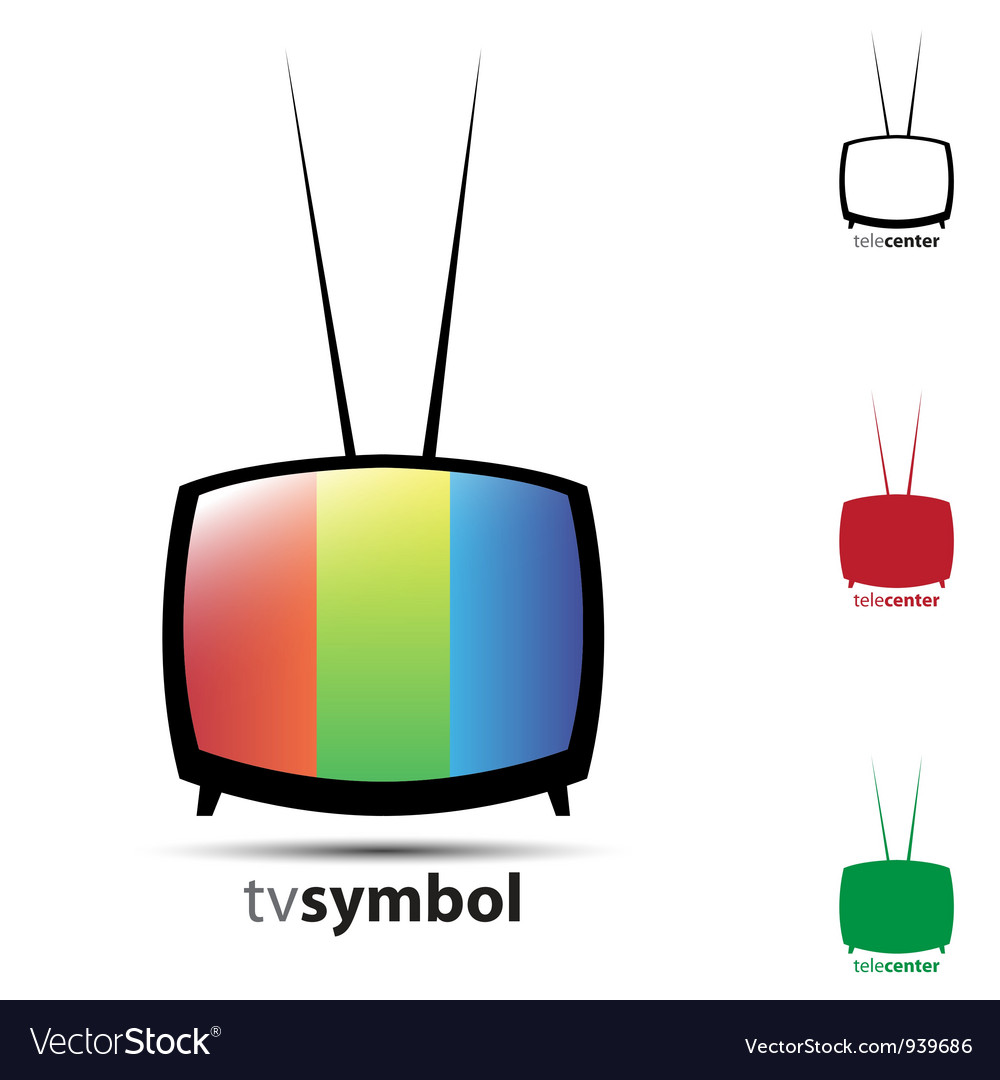 Cute tv vector | Price: 1 Credit (USD $1)