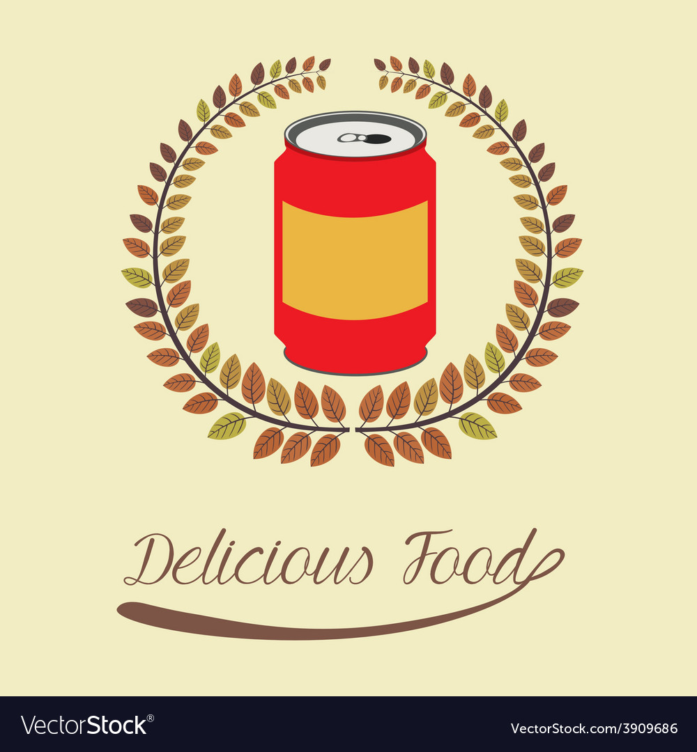 Food design over beige background vector   Price: 1 Credit (USD $1)