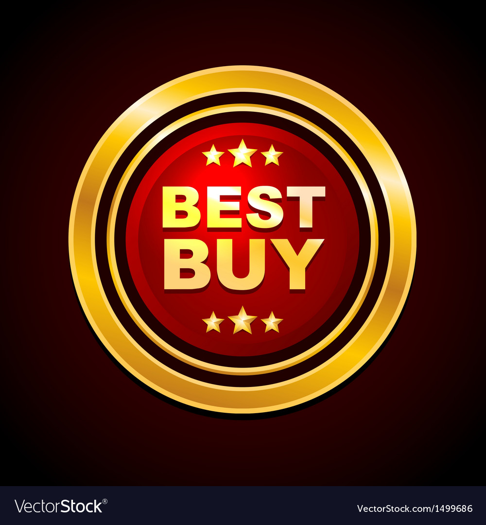Gold label best buy vector | Price: 1 Credit (USD $1)