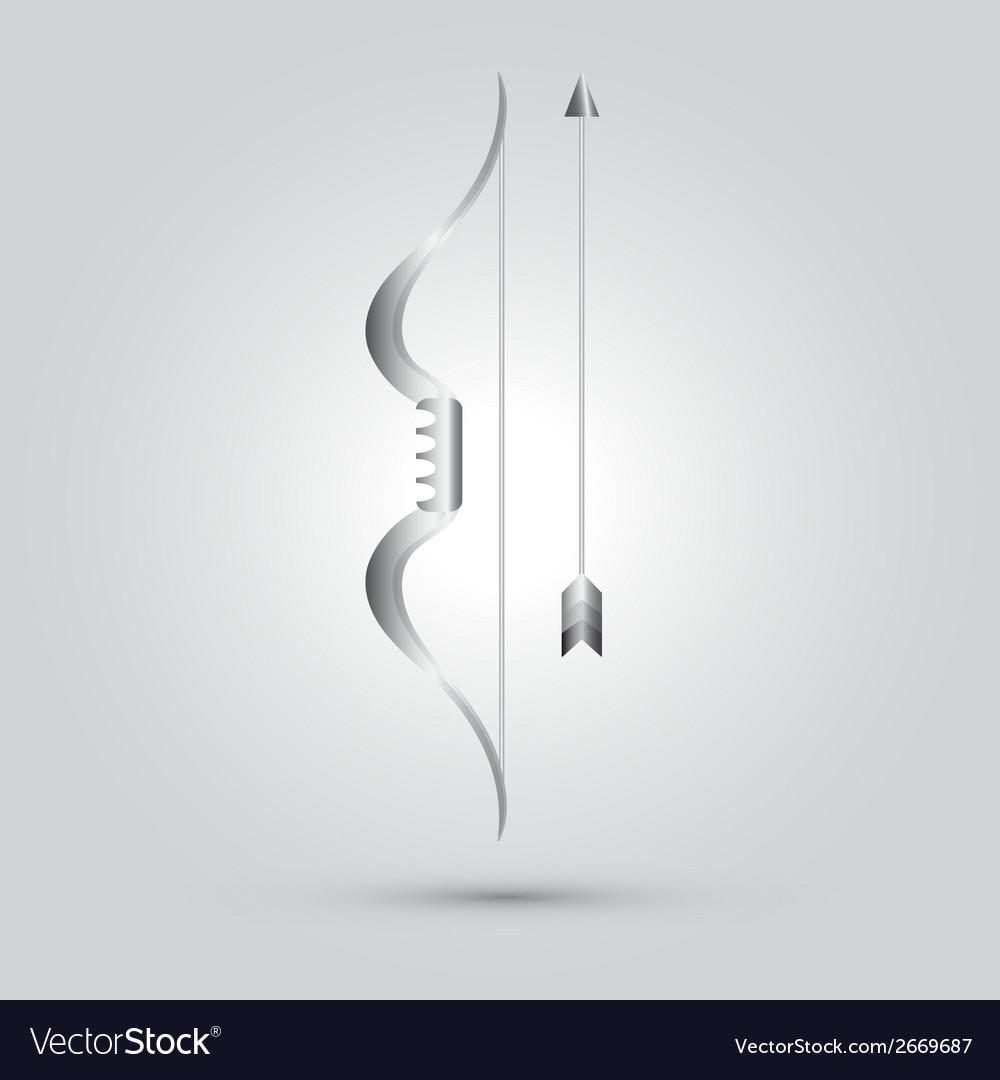 Archer ninja weapon vector | Price: 1 Credit (USD $1)