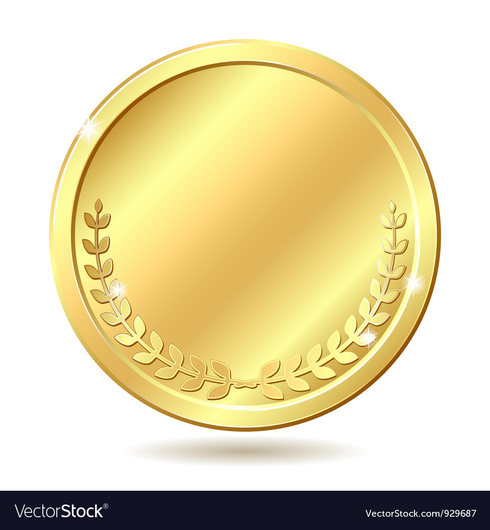 Golden coin vector | Price: 1 Credit (USD $1)