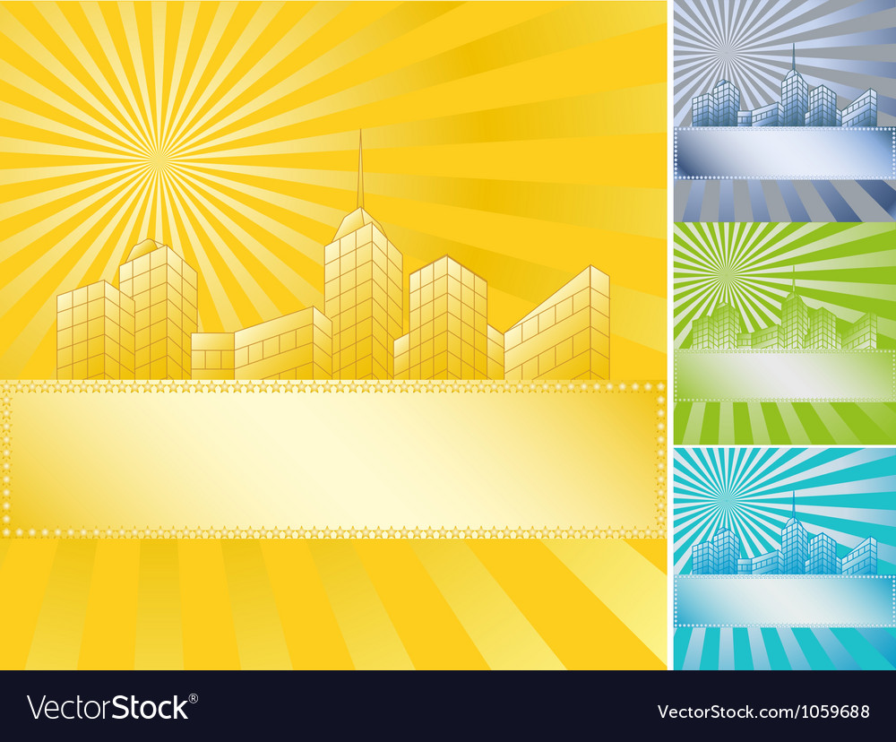 Banner skyscraper vector | Price: 1 Credit (USD $1)