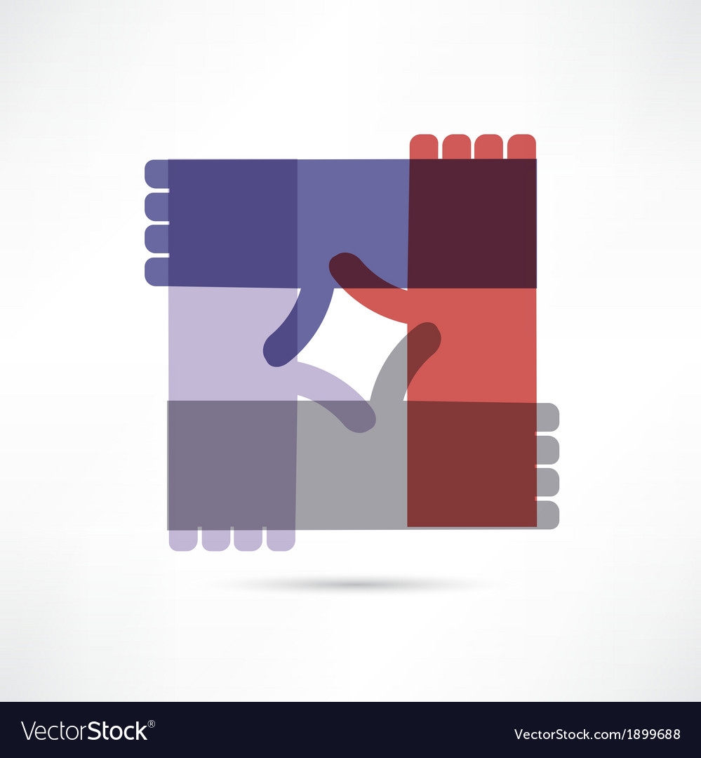 Community assistance icon vector | Price: 1 Credit (USD $1)