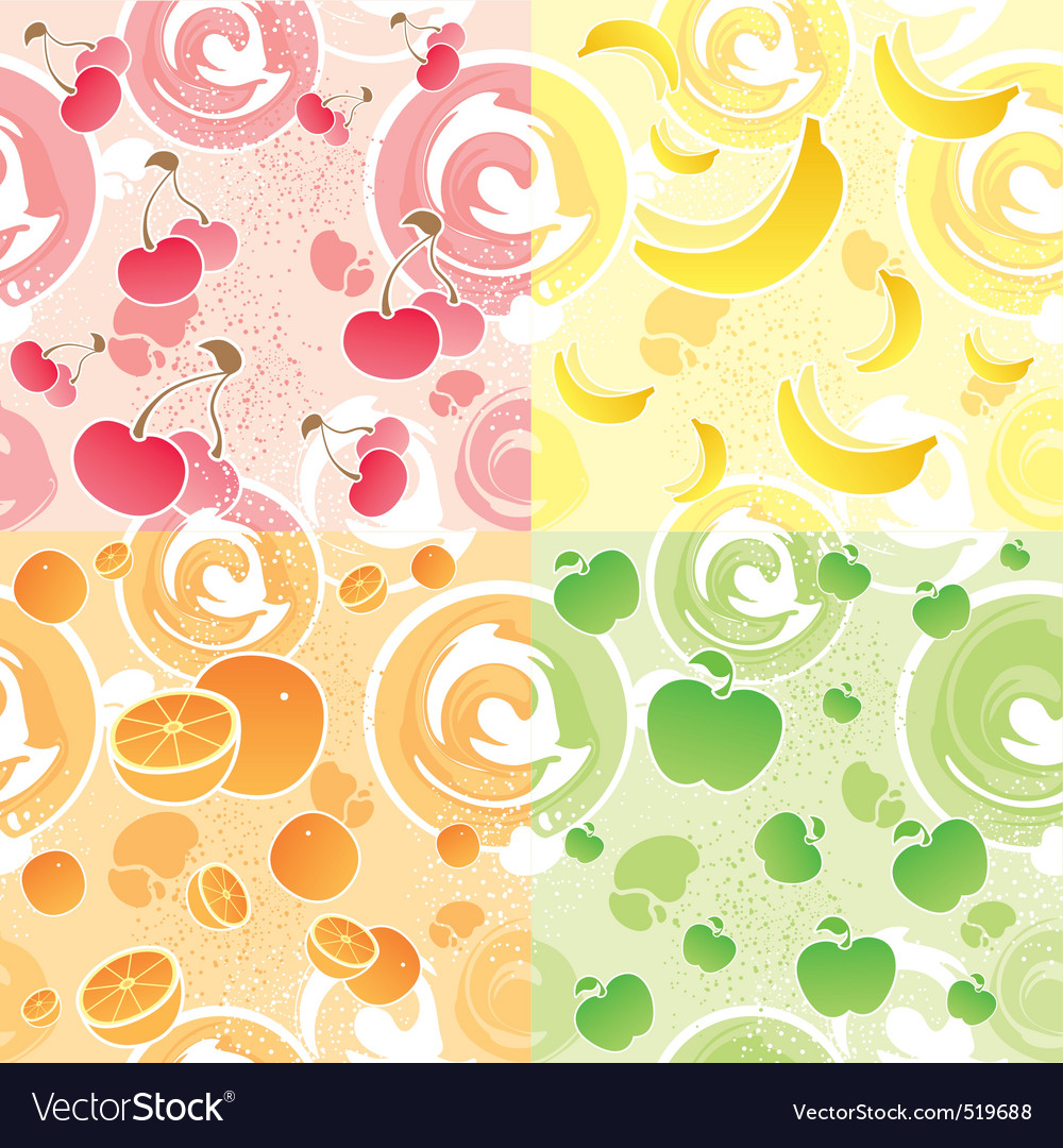 Fruit texture vector | Price: 1 Credit (USD $1)