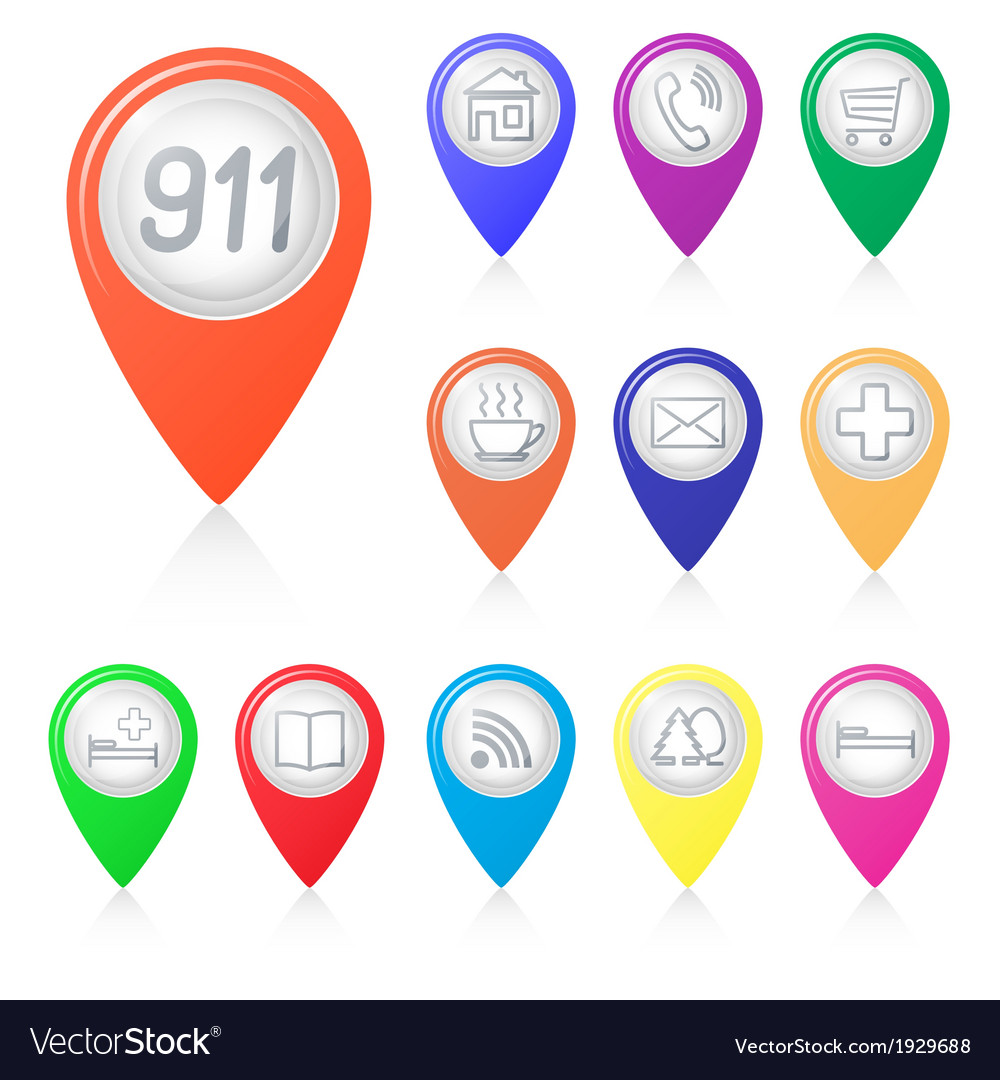 The numbers on the map arrows vector   Price: 1 Credit (USD $1)