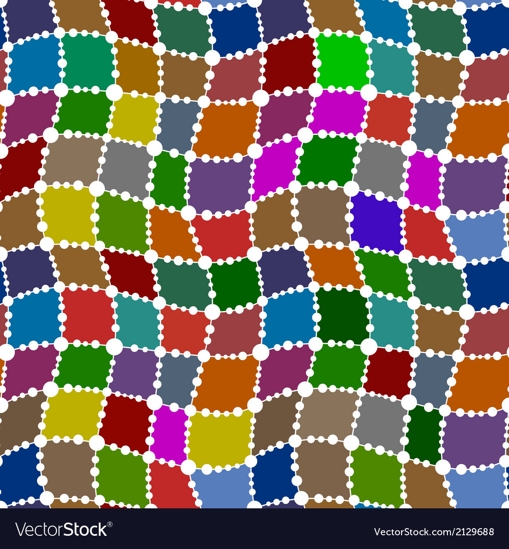 Patch seamless pattern vector | Price: 1 Credit (USD $1)