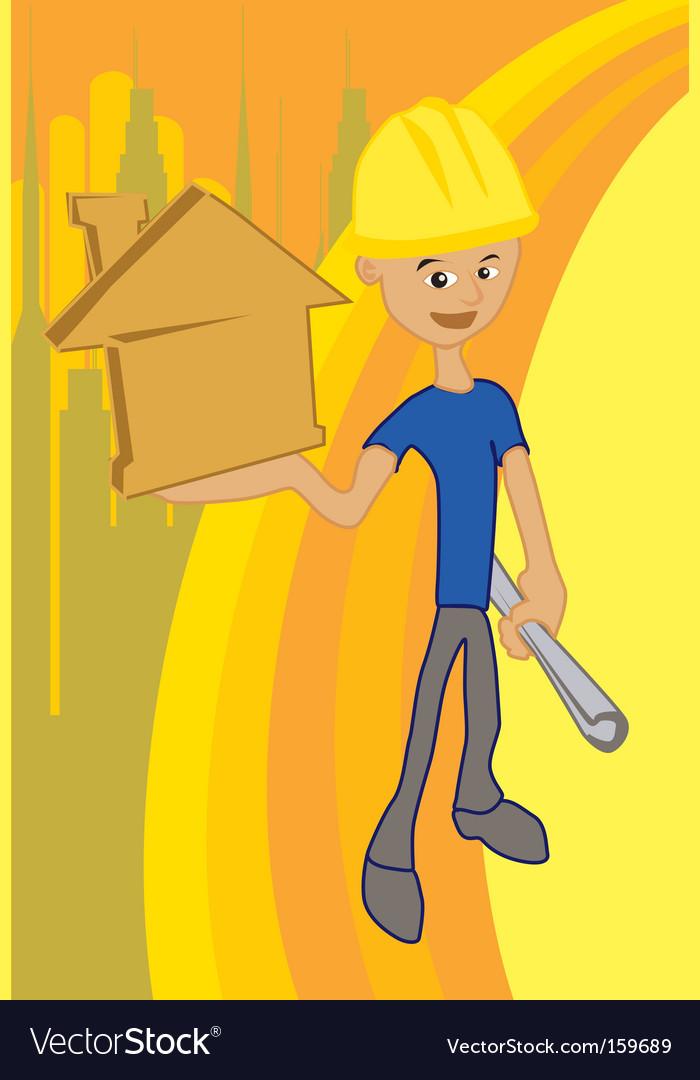 House idea vector | Price: 1 Credit (USD $1)