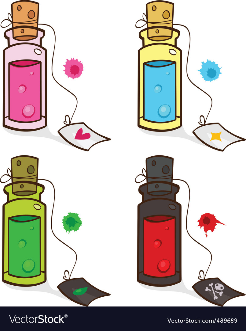Potions vector | Price: 1 Credit (USD $1)