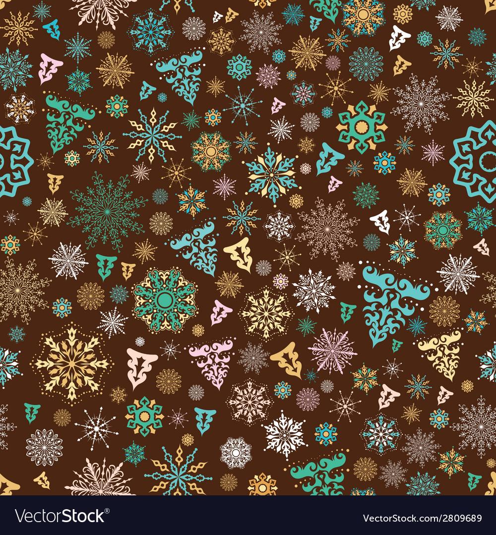 Vintage xmas pattern vector | Price: 1 Credit (USD $1)