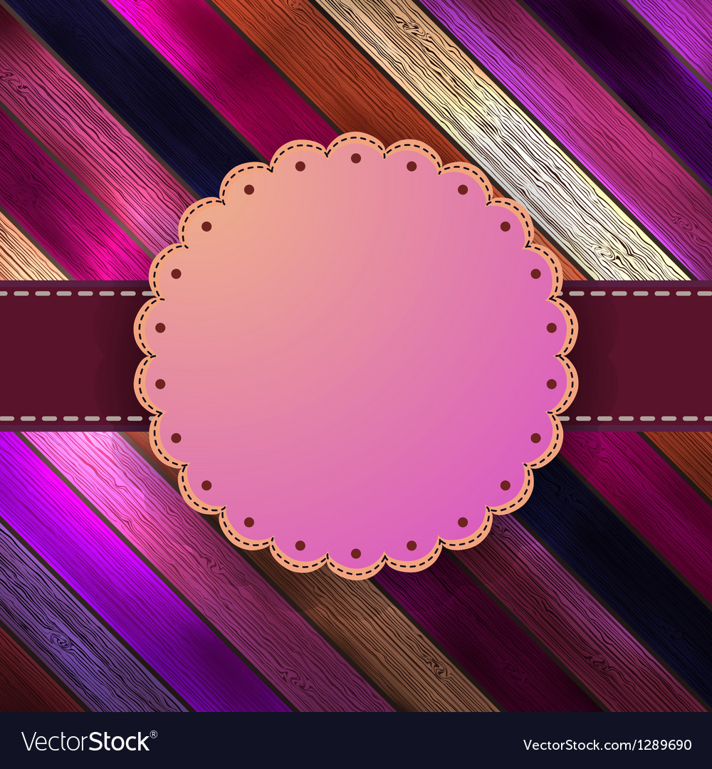 Decorative vintage card with copyspace  eps8 vector | Price: 1 Credit (USD $1)