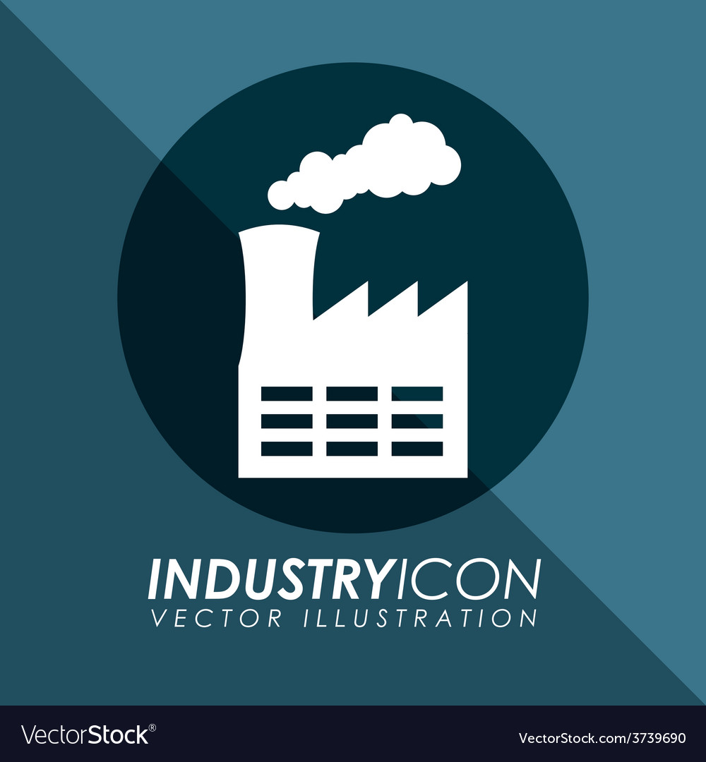Industry icon vector | Price: 1 Credit (USD $1)