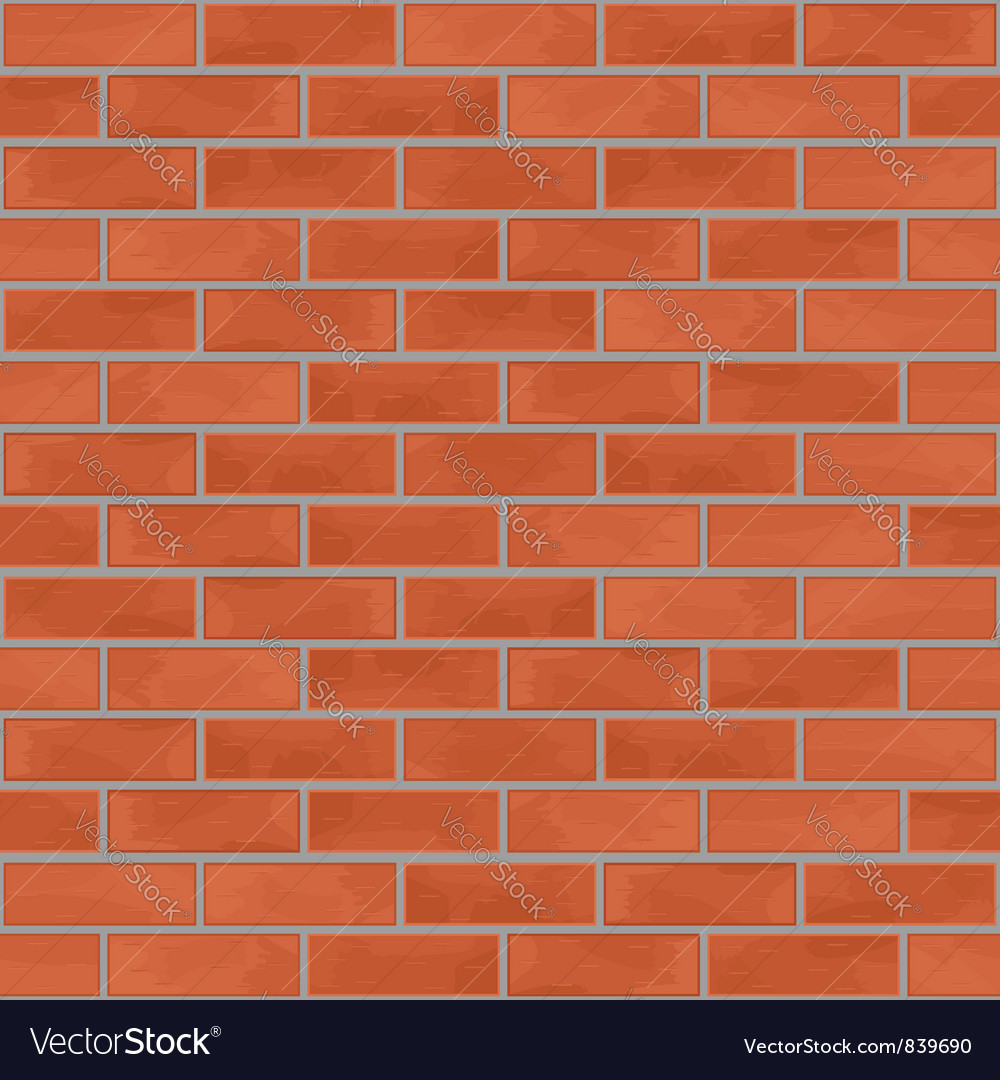 Seamless brick wall vector | Price: 1 Credit (USD $1)