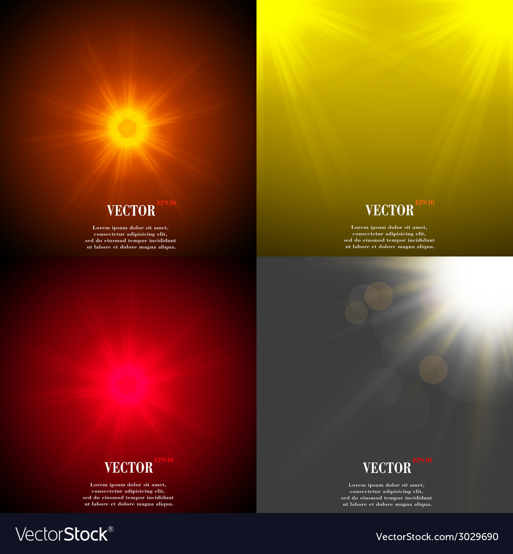 Summer sun light burst if you enjoy the hot and vector | Price: 1 Credit (USD $1)