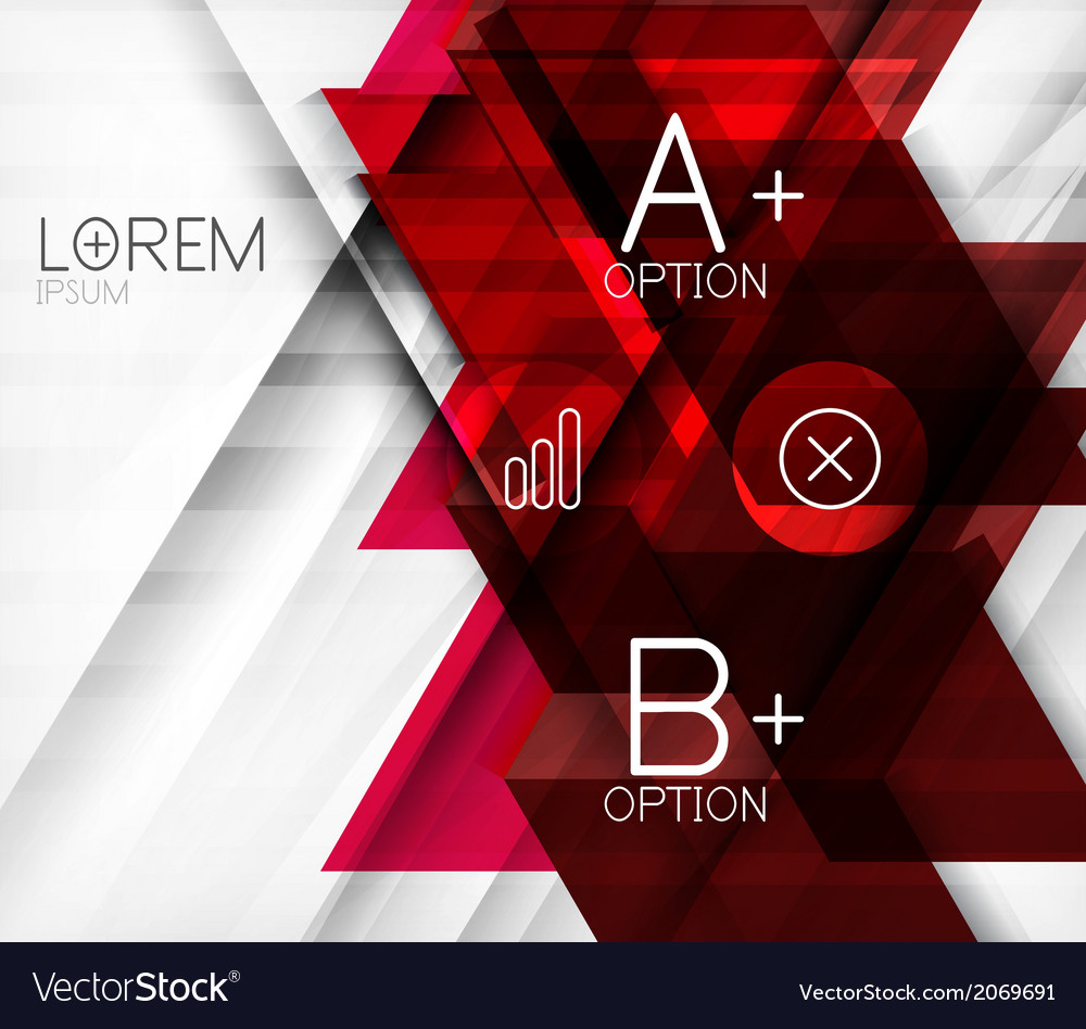 Blocks geometric abstract background vector   Price: 1 Credit (USD $1)