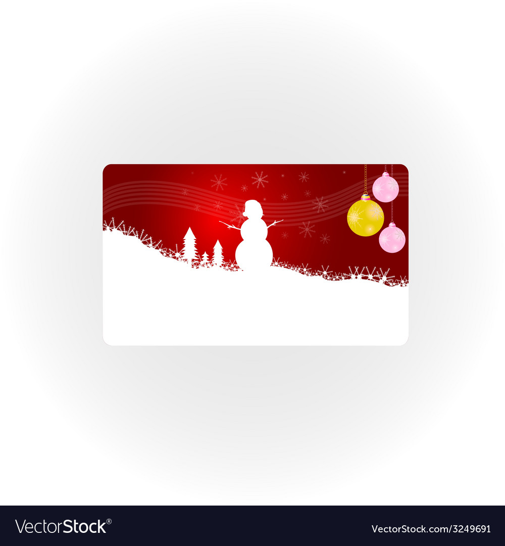 Snowman new 2013 year part one vector | Price: 1 Credit (USD $1)