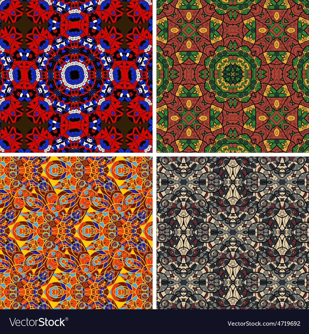 Mandala seamless pattern oriental vector | Price: 1 Credit (USD $1)