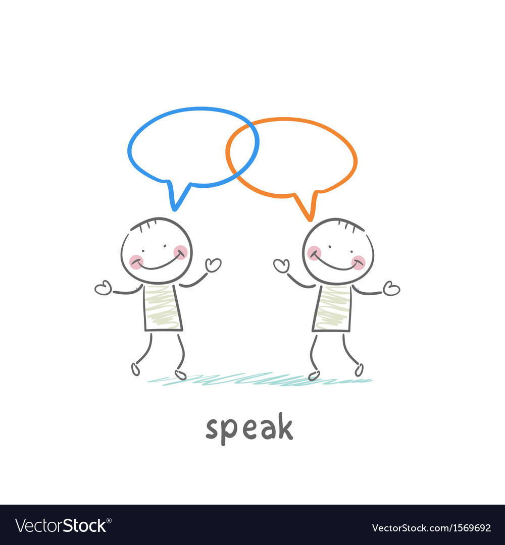 Speak vector | Price: 1 Credit (USD $1)
