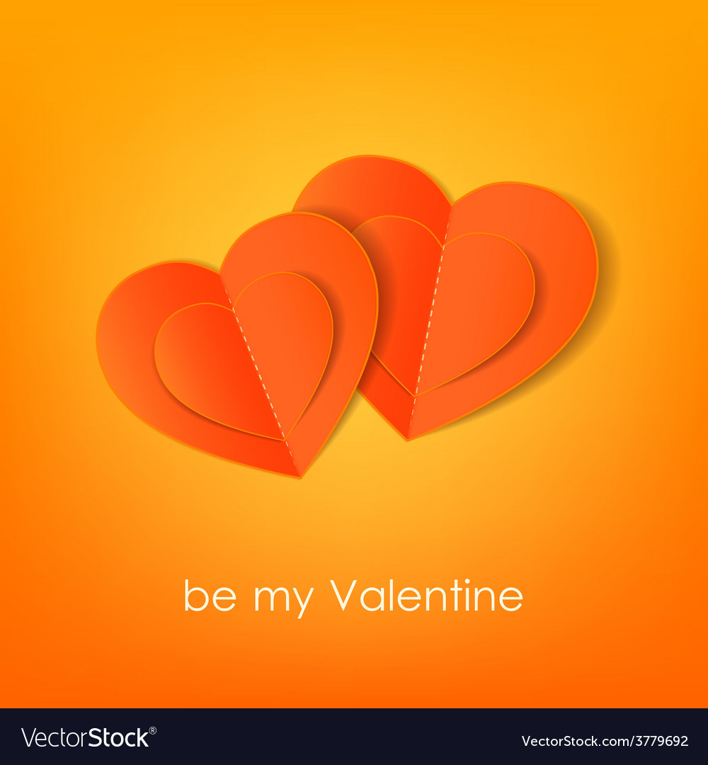 Valentines day typographical background with vector | Price: 1 Credit (USD $1)