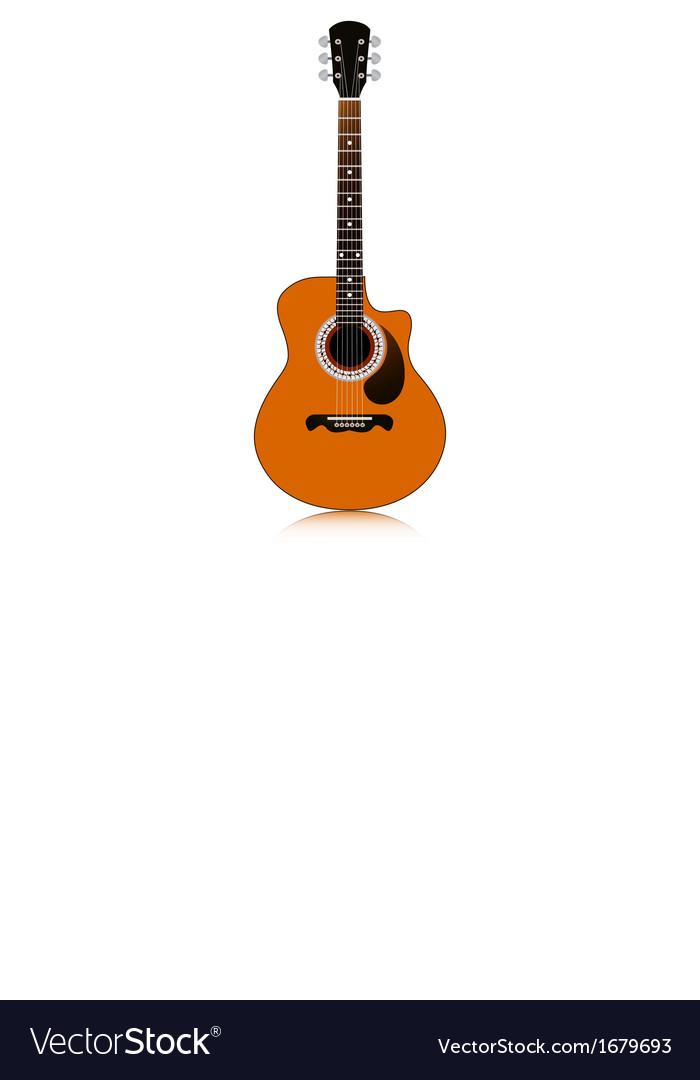 Guitar vector | Price: 1 Credit (USD $1)