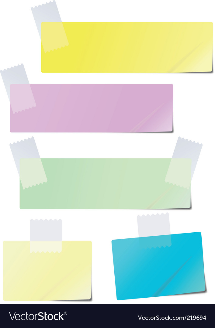 Colored paper vector | Price: 1 Credit (USD $1)