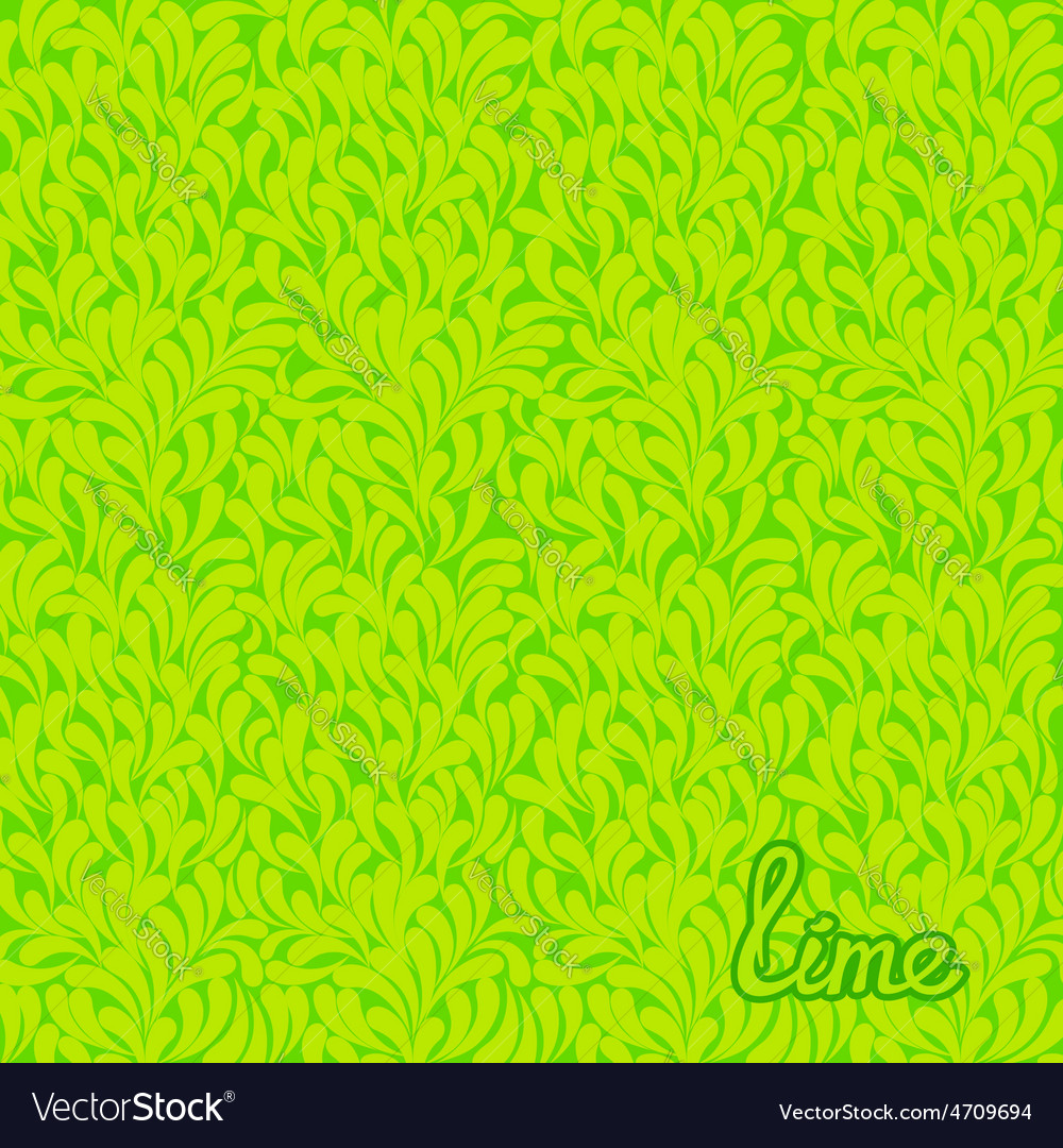 Lime abstract pattern vector | Price: 1 Credit (USD $1)