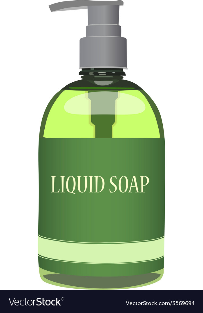 Liquid soap vector | Price: 1 Credit (USD $1)