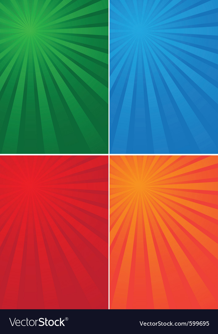 Background colored beams vector | Price: 1 Credit (USD $1)