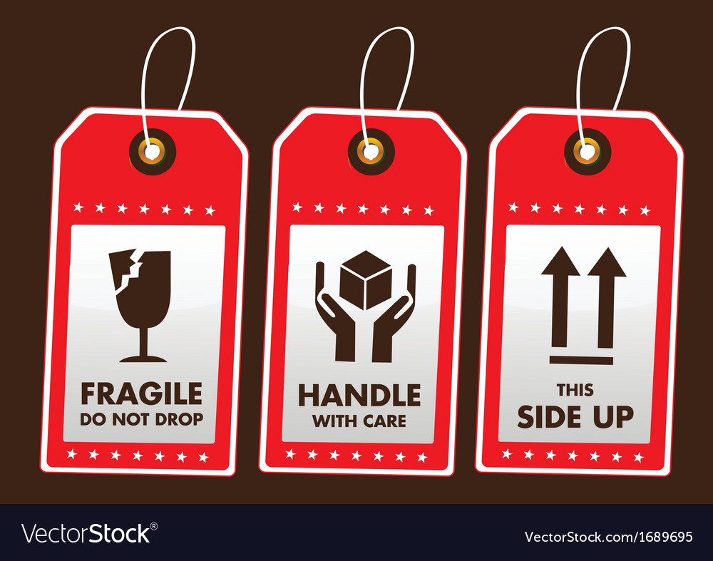 Packaging stickers vector | Price: 1 Credit (USD $1)