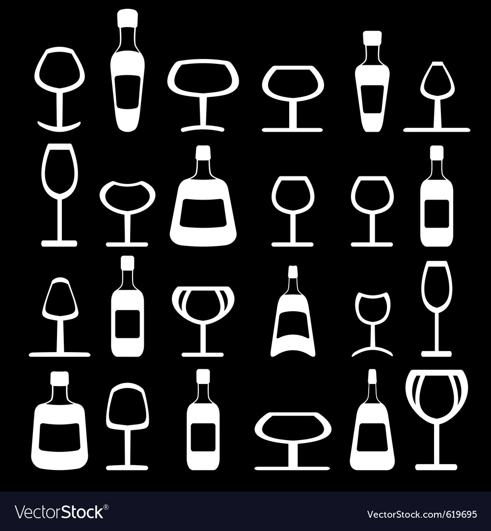 Wine and beer vector | Price: 1 Credit (USD $1)