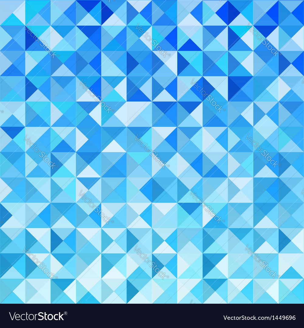 Blue mosaic background wallpaper vector | Price: 1 Credit (USD $1)