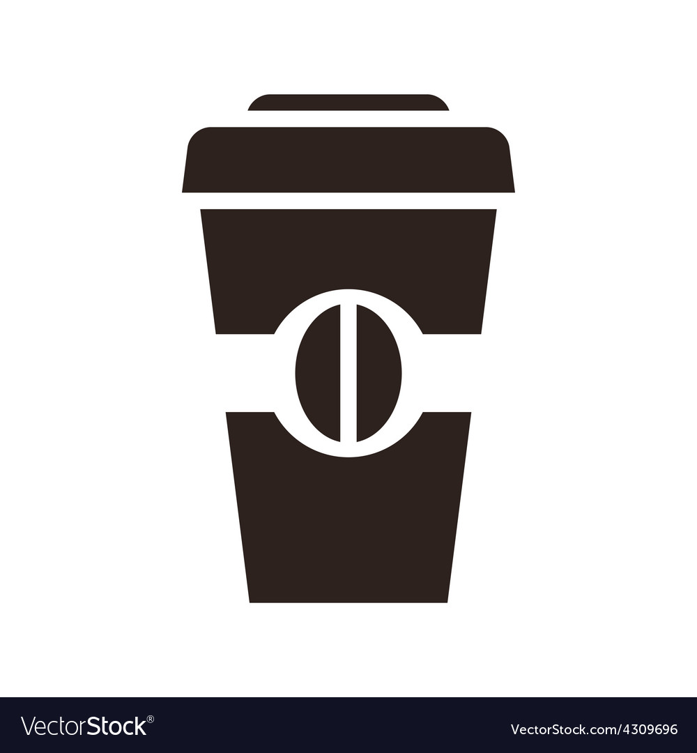 Coffee to go icon vector | Price: 1 Credit (USD $1)
