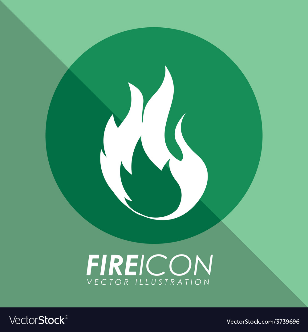 Fire icon vector | Price: 1 Credit (USD $1)