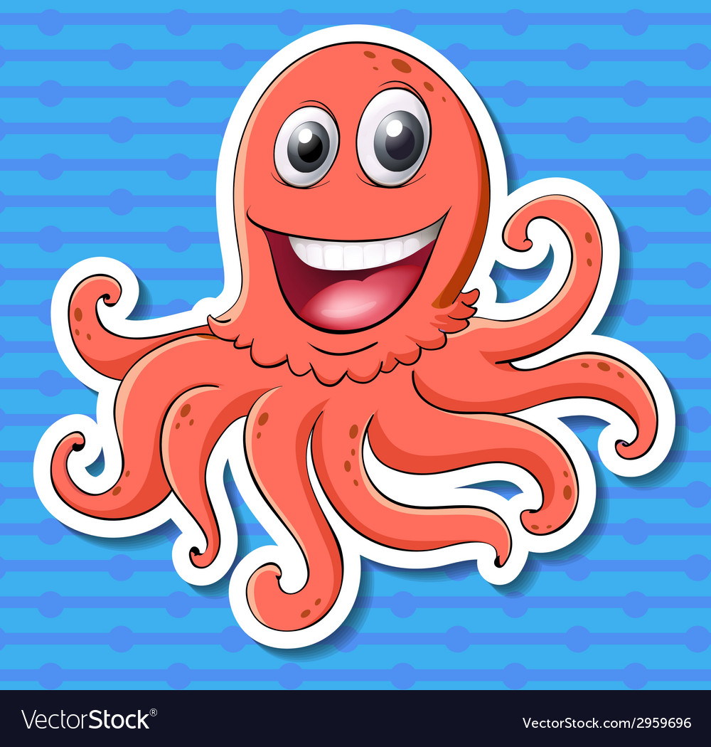 Octopus vector | Price: 1 Credit (USD $1)