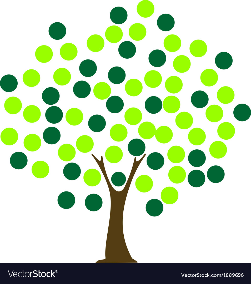 Tree dot vector | Price: 1 Credit (USD $1)