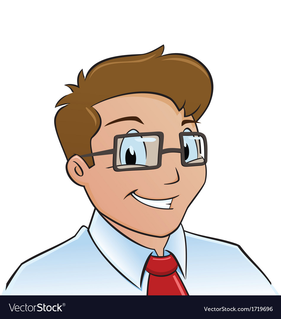Young office worker vector   Price: 1 Credit (USD $1)
