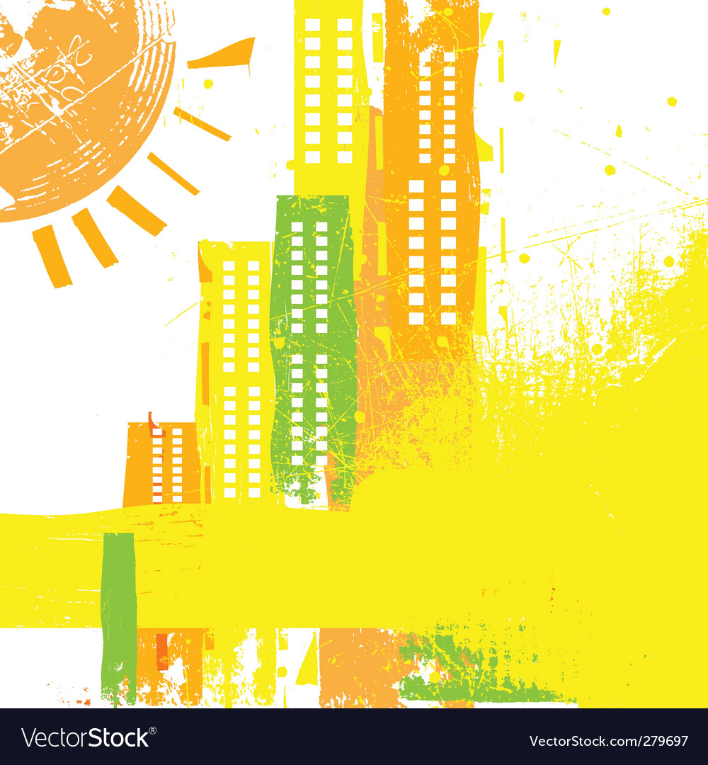 Abstract city concept vector | Price: 1 Credit (USD $1)