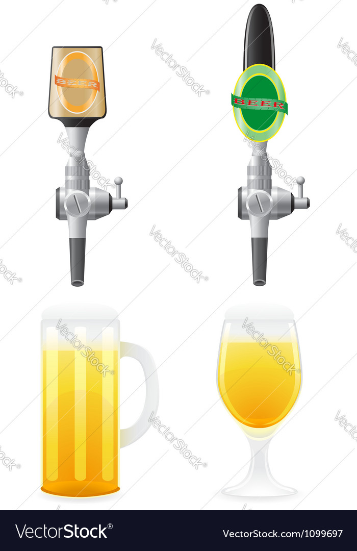Beer equipment 04 vector | Price: 1 Credit (USD $1)